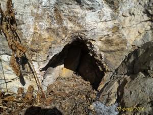 Маленькая пещерка